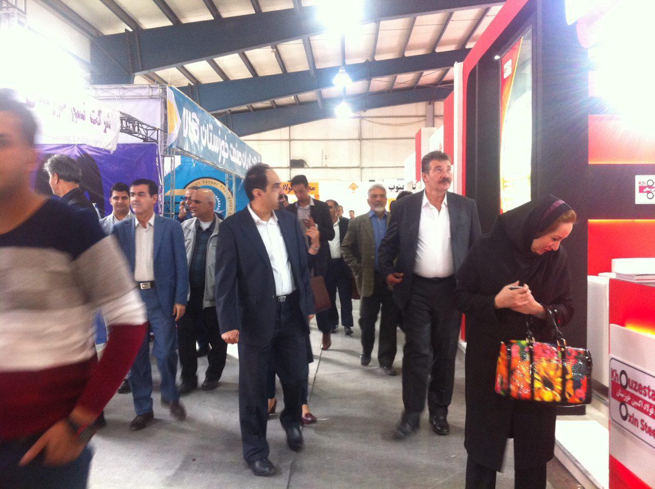 دومین نمایشگاه متالورژی، فولاد و صنایع وابسته در اهواز گشایش یافت