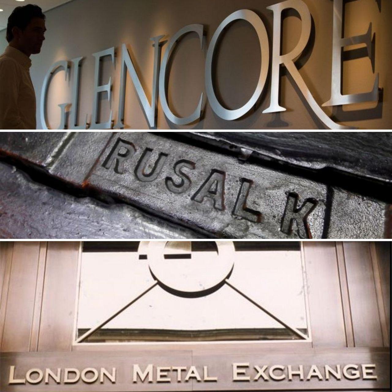 درخواست گلنکور و روسال از بورس فلزات لندن برای لغو ممنوعیت عرضه آلومینیوم روسیه