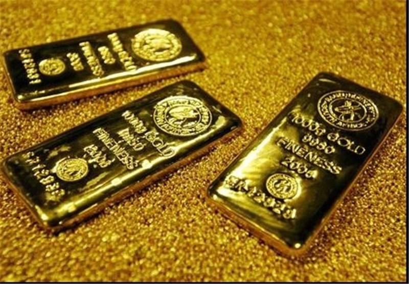 طلا 28 دلار ارزان شد