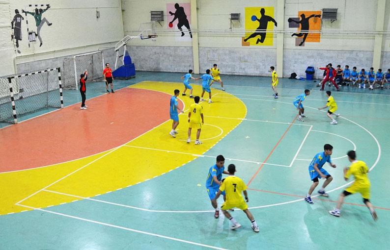 قهرمانی فولاد مبارکه اصفهان در مسابقات هندبال نونهالان کشور