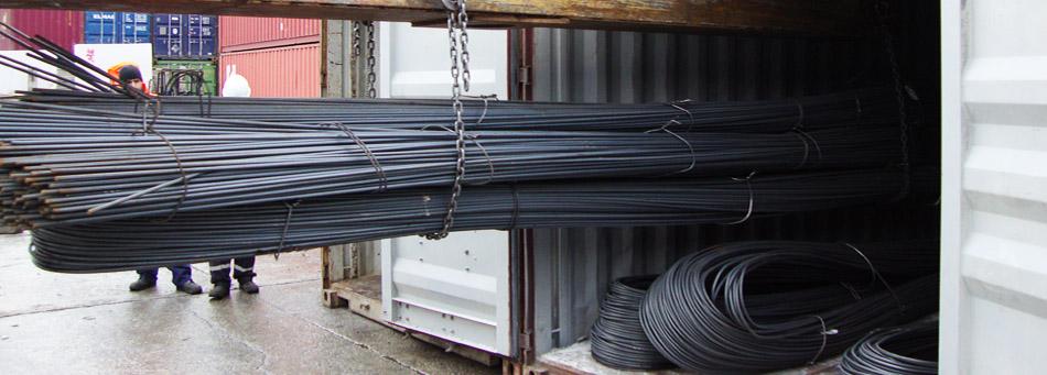 افت صادرات فولاد هند همچنان ادامه دارد