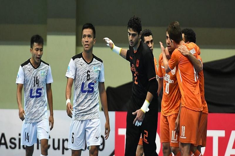 مس سونگون قهرمان فوتسال جام باشگاه های آسیا شد
