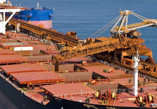 رشد صادرات سنگ آهن برزیل در ماه آگوست