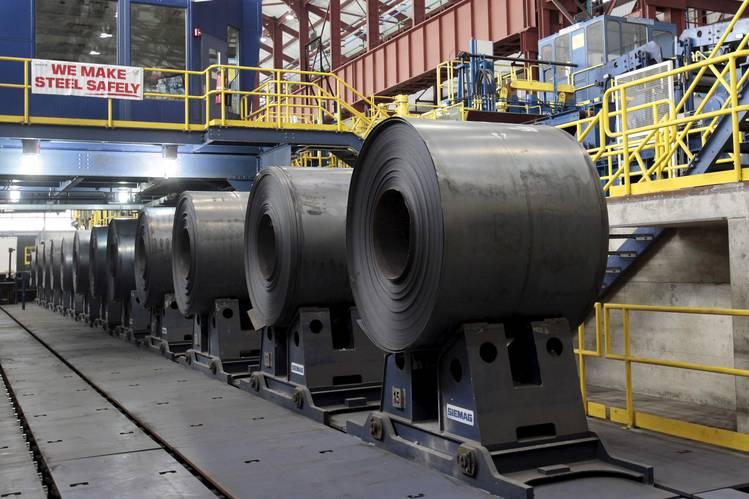 افزایش موجودی مقاطع تخت فولادی ژاپن در ماه آگوست