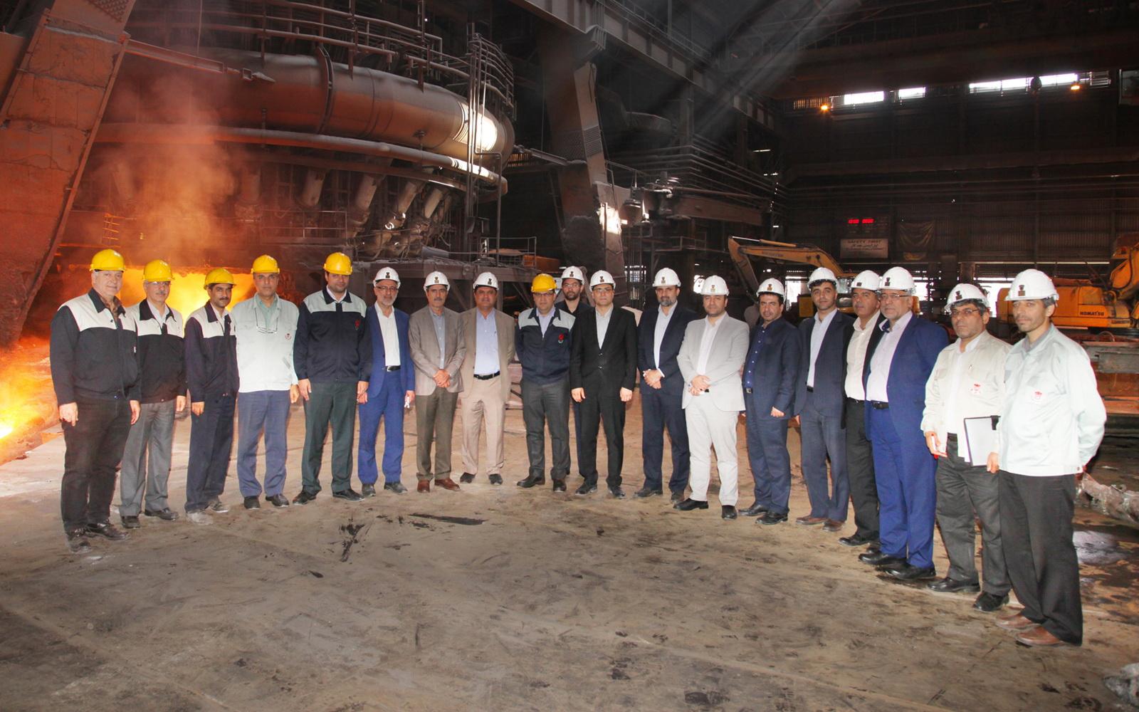 اعلام آمادگی ذوب آهن برای همکاری بیشتر با راه آهن/ ذوب آهن درصدد تولید مصولات فولادی با کاربرد صنعتی است