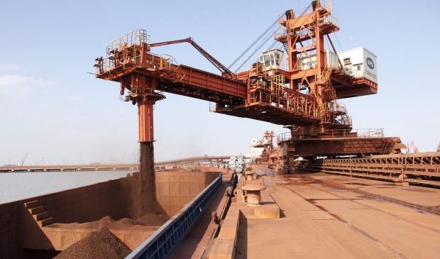 بهای سنگ آهن در چین افزایشی شد