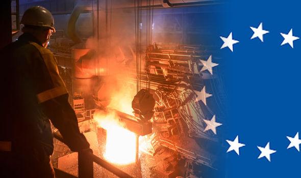 افزایش حجم واردات فولاد اتحادیه اروپا باتوجه به تعرفه های آمریکا
