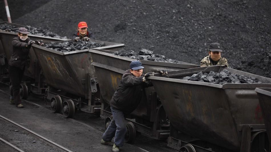 افزایش تولید زغال سنگ چین