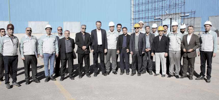 تأکید مدیرعامل فولاد مبارکه بر تولید ورق رویۀ نمایان خودرو و تکمیل فولادسازی سپیددشت