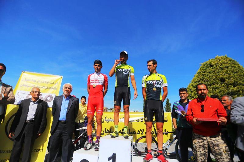 سپاهان 2 مدال لیگ دوچرخه سواری استقامت جاده را کسب کرد