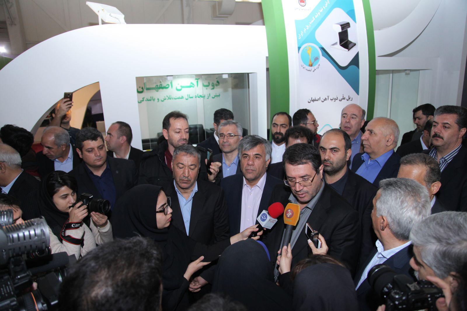 دستور ویژه وزیر صمت برای تامین مواد اولیه مورد نیاز ذوب آهن اصفهان