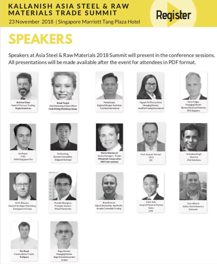 5 روز مانده تا کنفرانس بین المللی تجارت مواد خام و فولاد آسیا