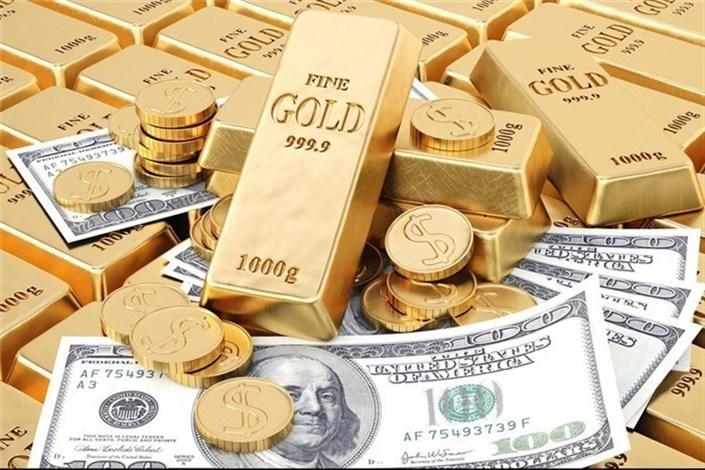 سود زیادی از عقب نشینی دلار آمریکا نصیب طلا شد
