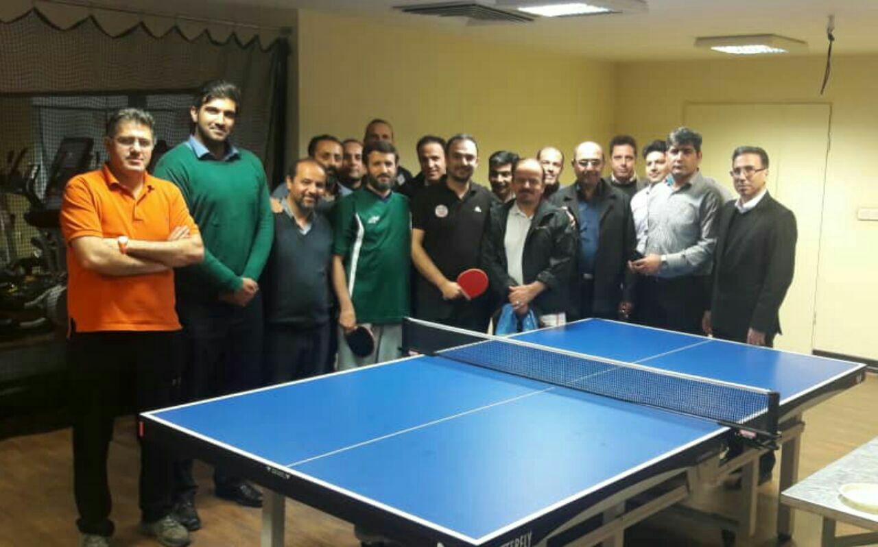 مسابقات تنیس روی میز کارکنان شرکت مس برگزار شد