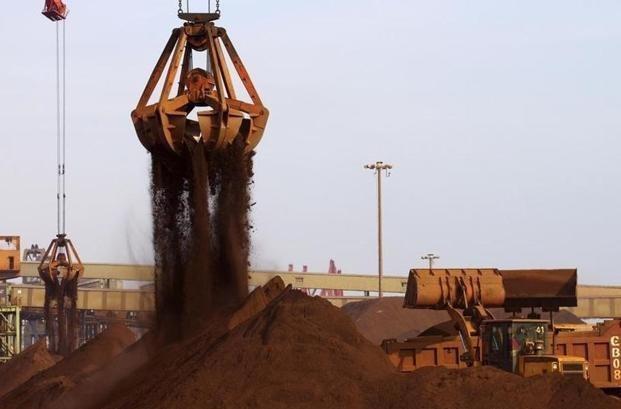 شروع روند نزولی قیمت سنگ آهن/ بهای هر تن سنگ آهن به 85 دلار رسید