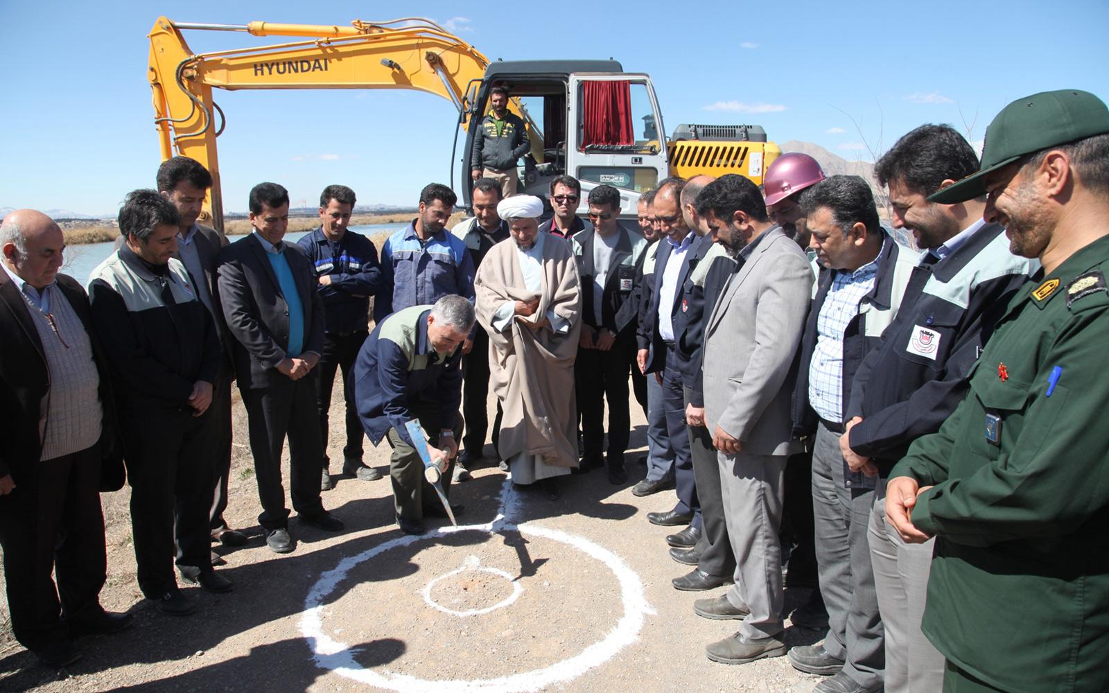 آغاز پروژه انتقال پساب فاضلاب از لاگون ها به ذوب آهن اصفهان