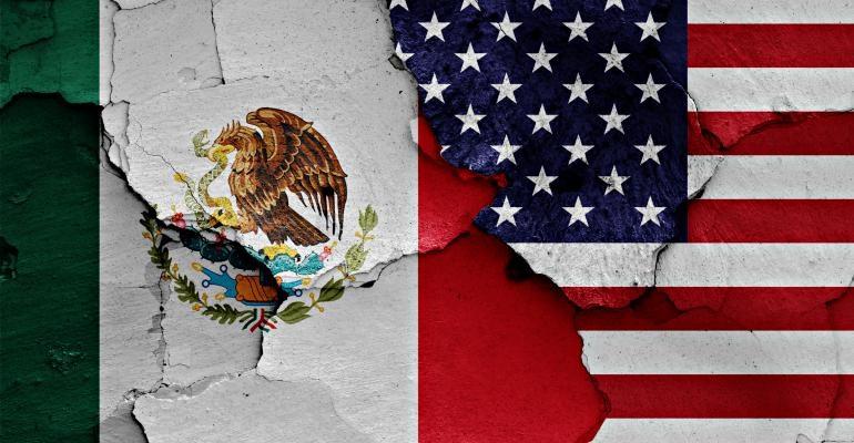 مکزیک به دنبال اقدامات تلافی جویانه علیه آمریکا