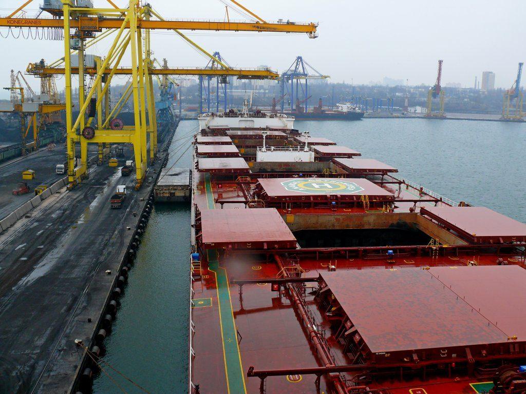 افت صادرات سنگ آهن اوکراین در ماه فوریه 2019