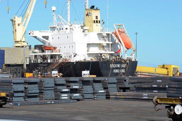 افت صادرات فولاد روسیه در ژانویه 2019
