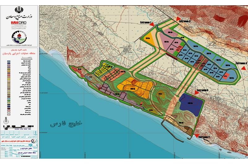 احداث سازه آبگیر و شیرین سازی آب دریا ازجمله برنامه های منطقه ویژه اقتصادی پارسیان در سال جاری است/ عملیات اجرایی طرح ها تا 1400 ادامه دارد