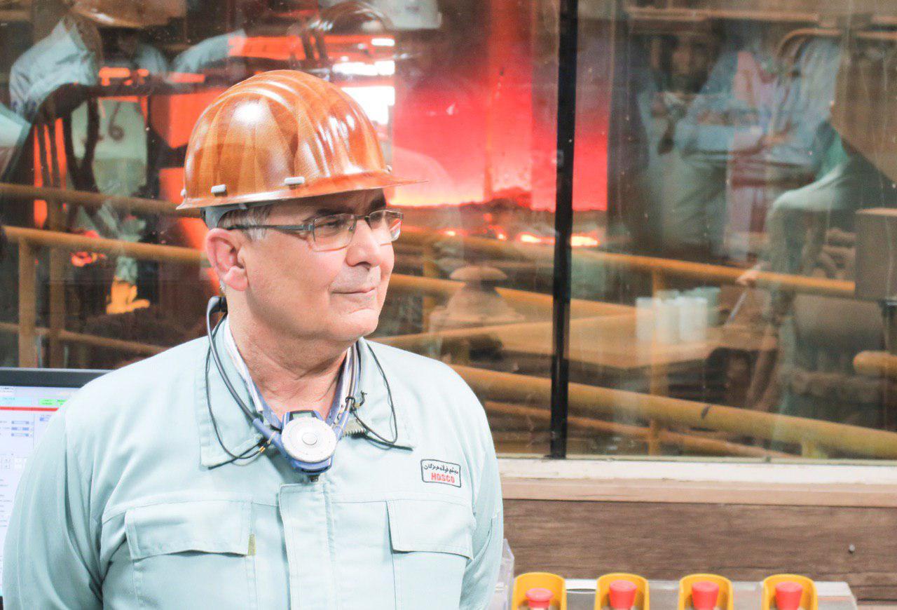 پیام فرزاد ارزانی مدیرعامل شرکت فولاد هرمزگان به مناسبت روز کارگر