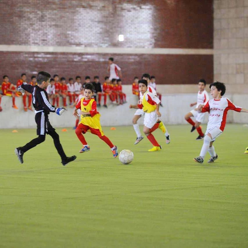 فراخوان مدرسه فوتبال باشگاه فولاد خوزستان برای ثبت نام از متقاضیان
