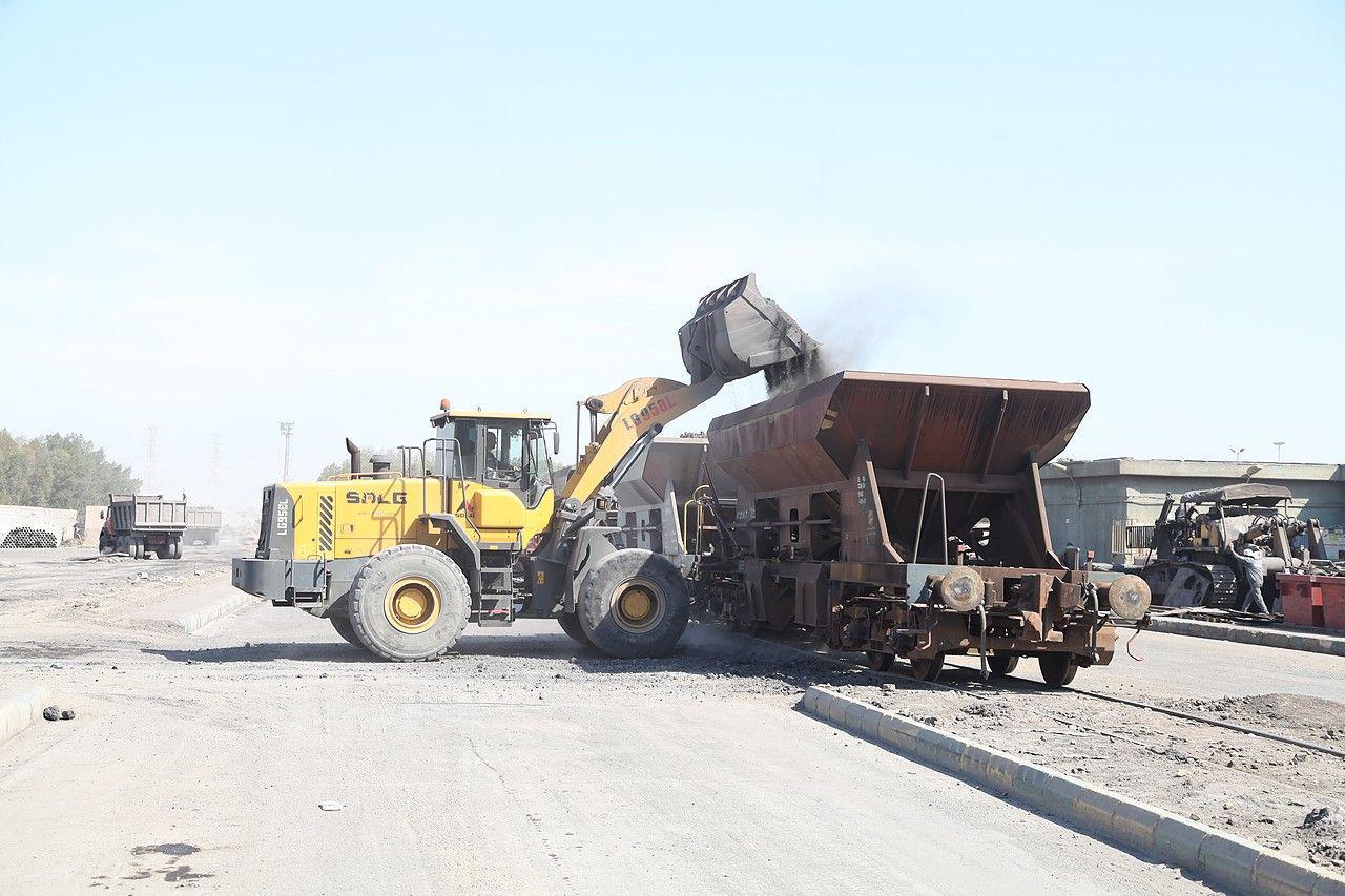 ارسال قطار حامل سرباره فولاد خوزستان