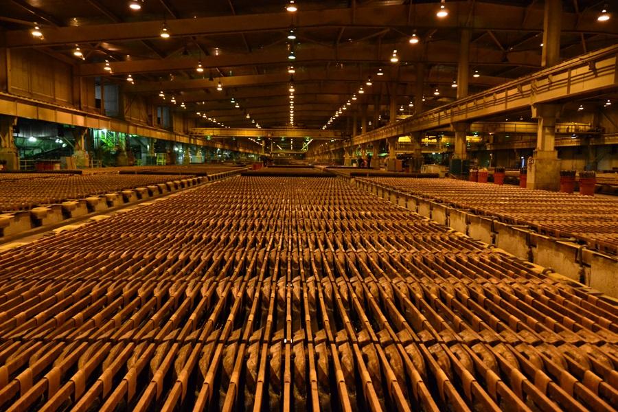 تولید مس پرو در ماه آوریل رشد 1.29 درصدی داشت