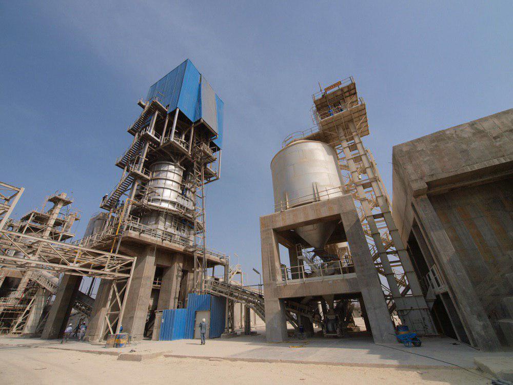 ثبت رکورد تولید بیش از 11 هزار تن آهک در واحد آهک شرکت فولاد هرمزگان