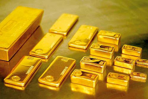 کاهش بهای هر اونس طلا در بازارهای جهانی