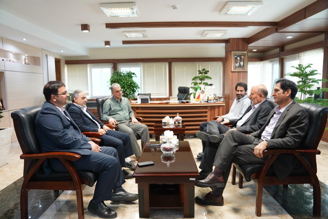 دیدار رئیس کمیسیون صنایع و معادن مجلس با مدیرعامل شرکت مس
