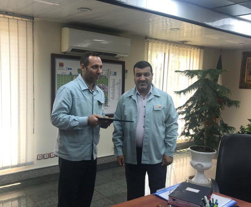 معاون منابع انسانی و امور اجتماعی فولاد خوزستان منصوب شد