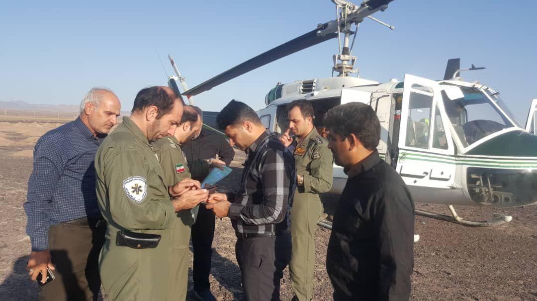 تیم سه نفره کارشناسان شرکت پتاس خوروبیابانک بعد از 3 روز در کویر پیدا شدند