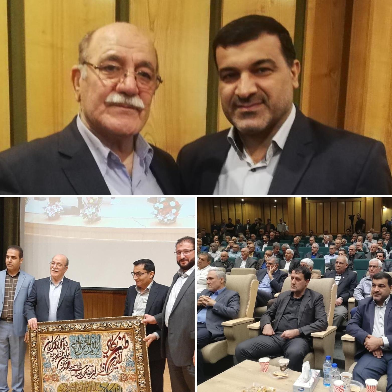 مراسم بزرگداشت مدیرعامل اسبق باشگاه فرهنگی ورزشی فولاد خوزستان برگزار شد