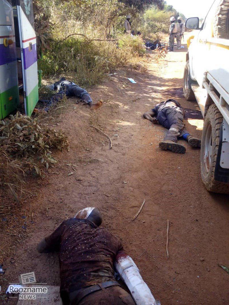 حمله مرگبار به کاروان معدنچیان در بورکینافاسو/ دستکم 37 کشته و 60 زخمی در مرگبارترین حمله سال های اخیر به کارگران معدن طلای سمافو