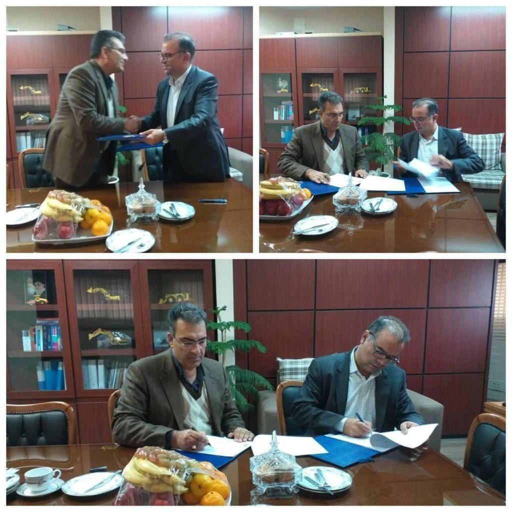مجتمع سنگ آهن سیرجان و مرکز تحقیقات فرآوری مواد معدنی ایران تفاهم نامه همکاری امضا کردند