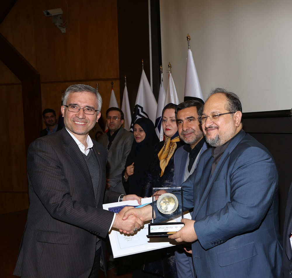 کسب تندیس ویژه و گواهینامه سرآمدی در مسئولیت اجتماعی توسط ذوب آهن اصفهان