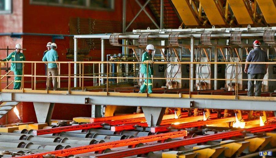 عرضه 60 هزار تن شمش بلوم در تالار محصولات صنعتی و معدنی