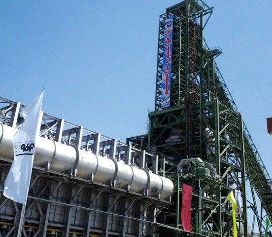 کسب رکورد تولید روزانه آهن اسفنجی در شرکت فولاد مبارکه