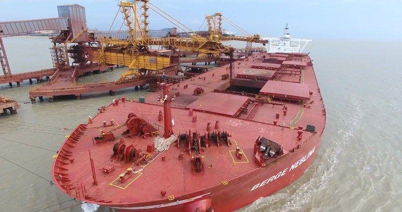 واله برزیل در ژانویه سنگ آهن بیشتری به چین صادر کرد
