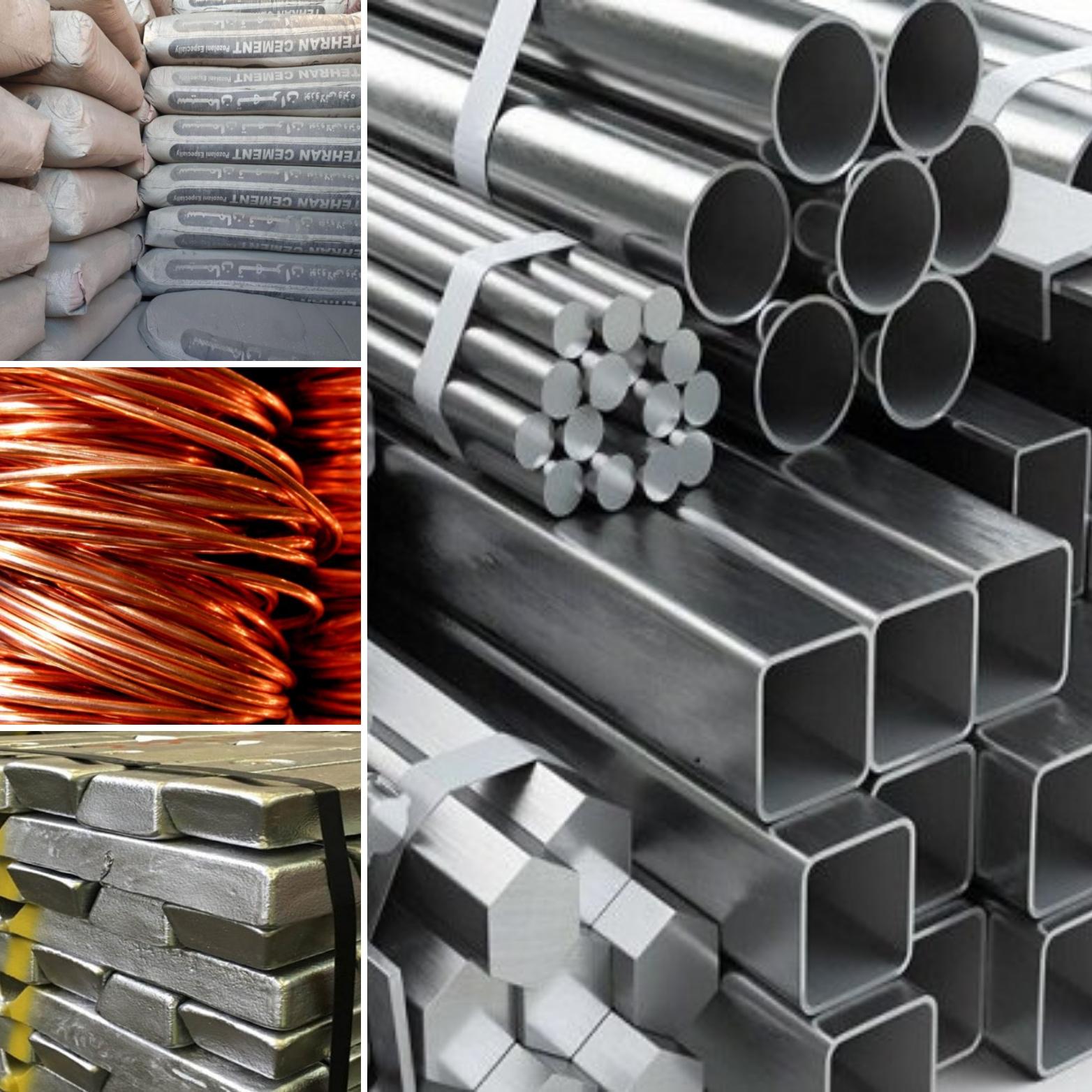 تولید بیش از 21.6 میلیون تن شمش فولادی تا پایان بهمن ماه سال گذشته/ تولید بیش از 226 هزار تن کاتد مس/ 241 هزار تن شمش آلومینیوم تولید شد