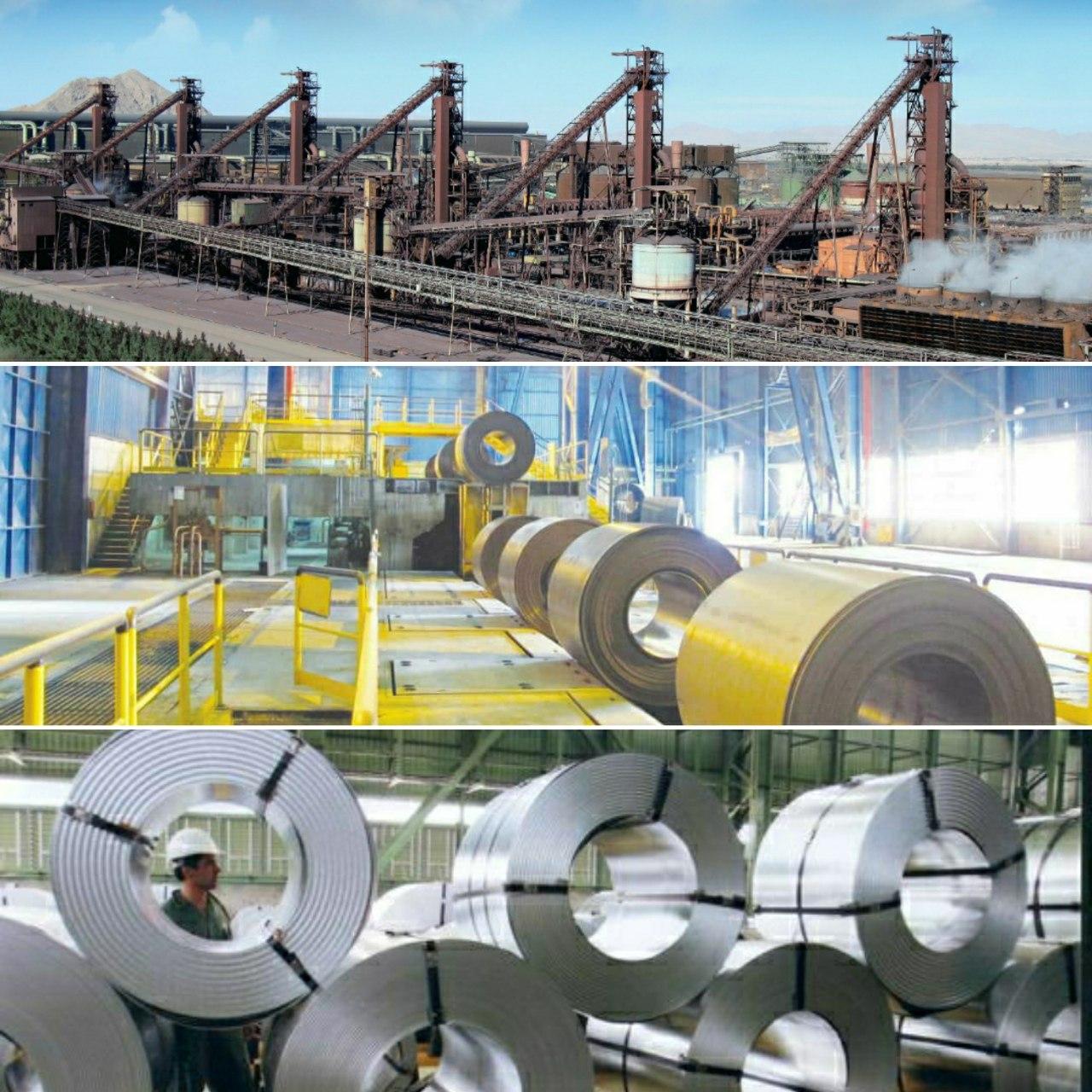 دستیابی به رکوردهای جدید تولید در نواحی مختلف تولید در فولاد مبارکه