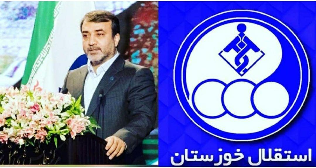 اعضای تیم فوتبال بزرگسالان استقلال خوزستان مجدداً شارژ مالی شدند