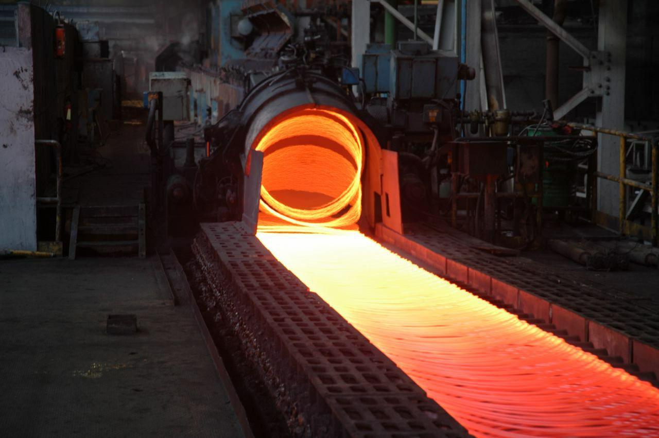 دستاوردی ویژه از متخصصین گروه ملی/ تولید کلاف آجدار سایز 6 برای اولین بار در تاریخ کارخانه نورد میلگرد و مفتول
