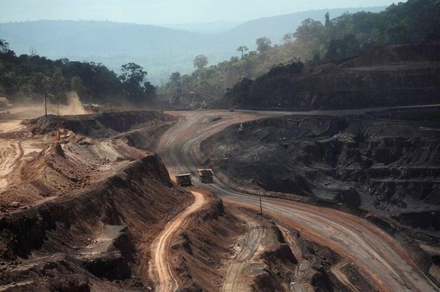 تولید سنگ آهن واله برزیل علیرغم کرونا همچنان ادامه دارد