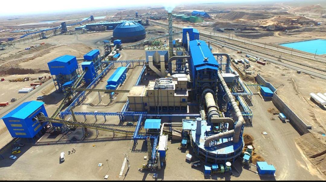 تولید گندله سناباد 12 درصد بیش از ظرفیت اسمی/ تولید روزانه گندله از 9300 تن عبور کرد